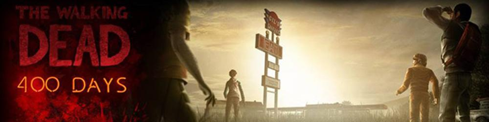 The Walking Dead 400 Days banner