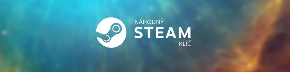 Náhodný steam klíč banner
