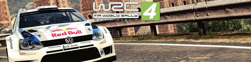WRC FIA World Rally Championship 4 banner