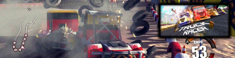 Truck Racer banner