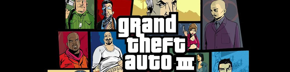 Grand Theft Auto III, GTA 3 banner
