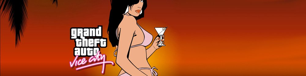 Grand Theft Auto Vice City, GTA Vice City banner