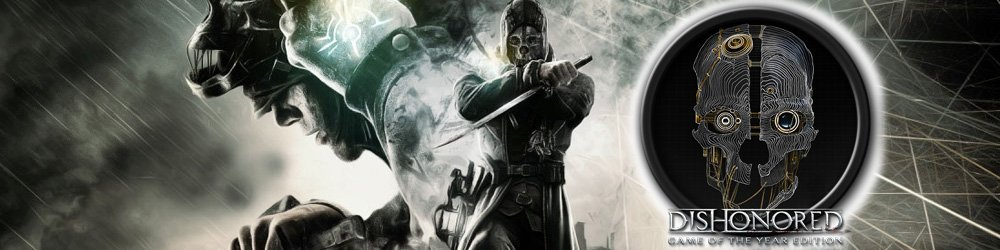 Dishonored Game of the Year Edition banner
