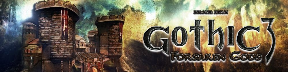 Gothic 3 Forsaken Gods Enhanced Edition banner