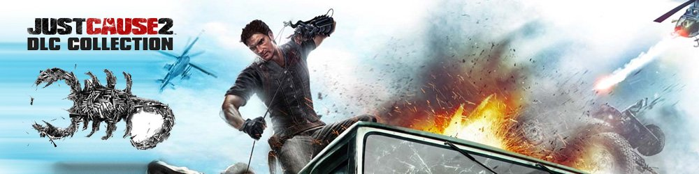 Just Cause 2 DLC Collection banner