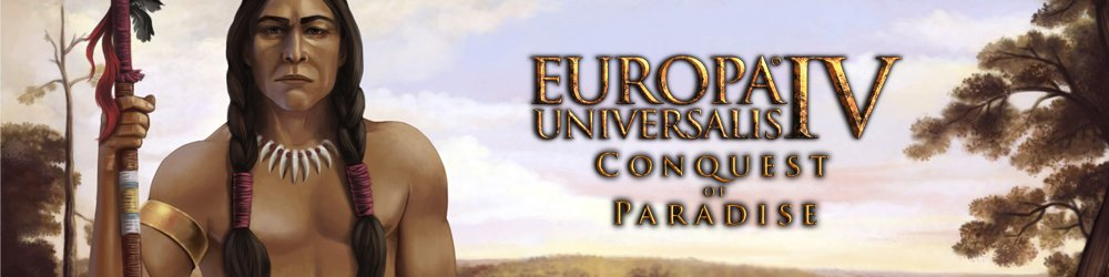 Europa Universalis IV Conquest of Paradise banner