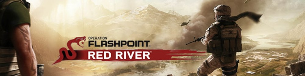 Operation Flashpoint Red River Steam banner