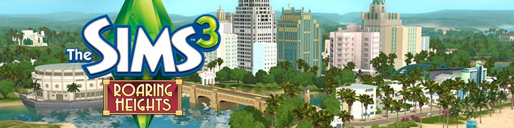 The Sims 3 Roaring Heights banner
