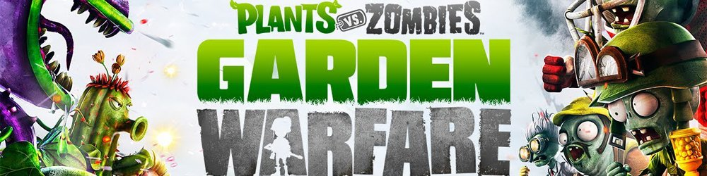 Plants vs Zombies Garden Warfare banner