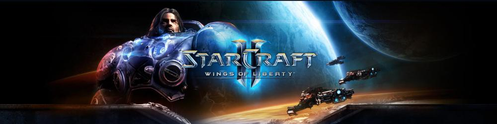 Starcraft 2 Wings of Liberty banner