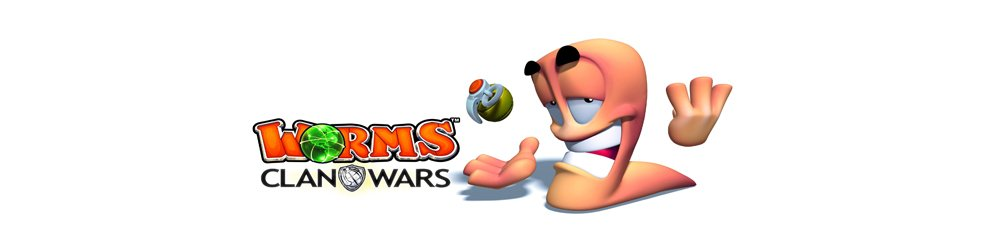 Worms Clan Wars + Worms Revolution banner