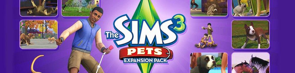 The Sims 3 Pets Domácí Mazlíčci banner
