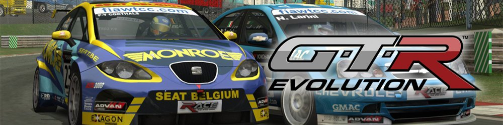 RACE 07  GTR Evolution Expansion Pack banner