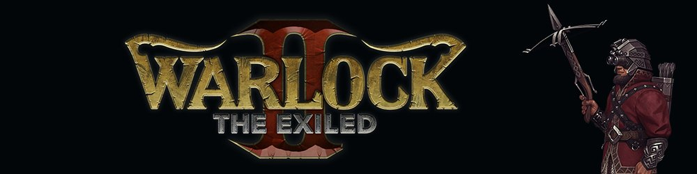 Warlock 2 the Exiled banner