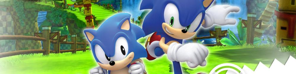 Sonic Generations banner