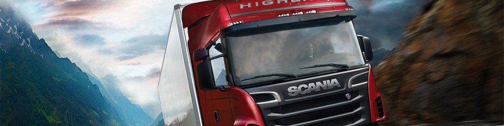 Scania Truck Driving Simulator banner