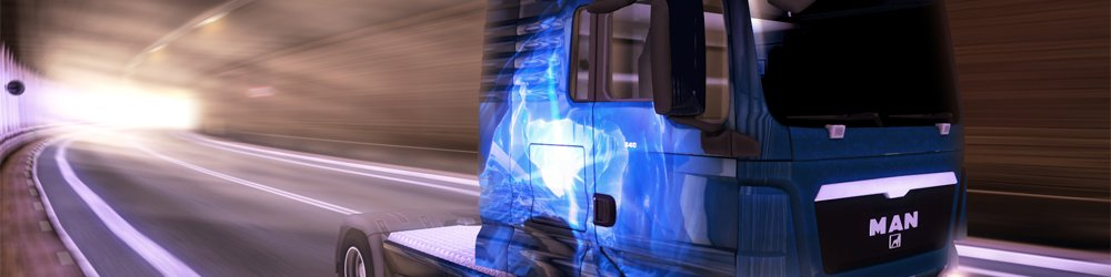Euro Truck Simulátor 2 Ice Cold Paint Jobs Pack banner