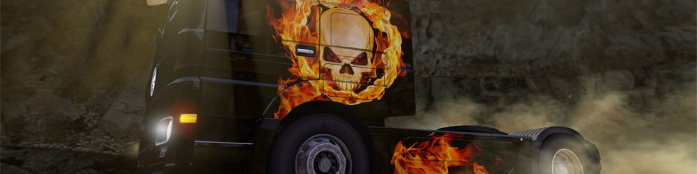Euro Truck Simulátor 2 Halloween Paint Jobs Pack banner