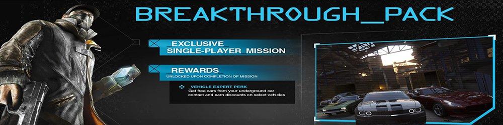 Watch Dogs Breakthrough DLC banner