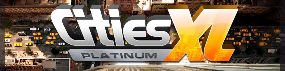 Cities XL Platinum banner