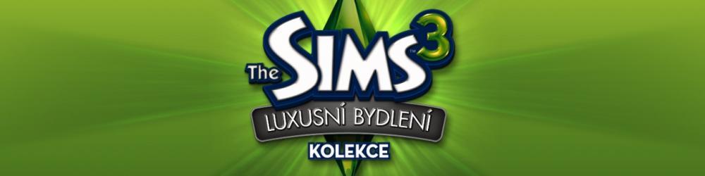 The Sims 3 Luxusní bydlení banner
