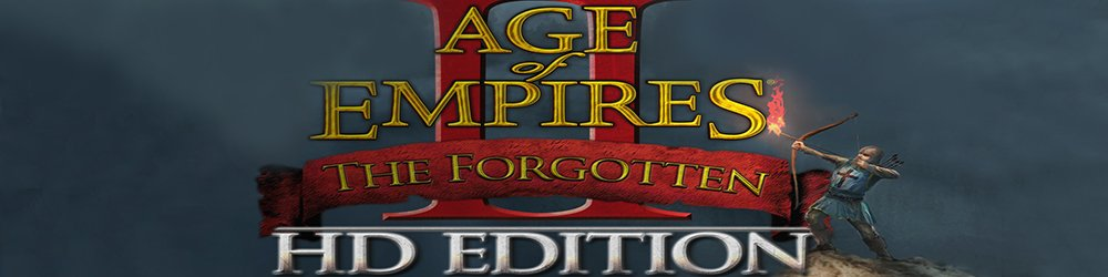 Age of Empires II HD The Forgotten banner