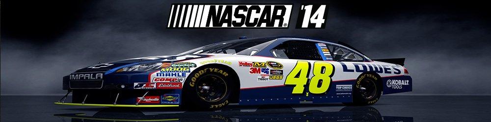 NASCAR 14 banner