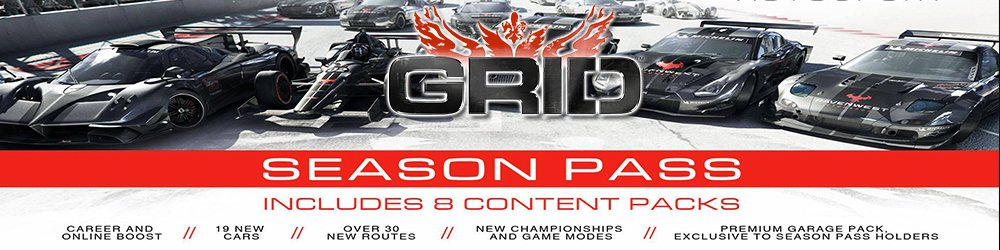 Grid Autosport Season Pass banner