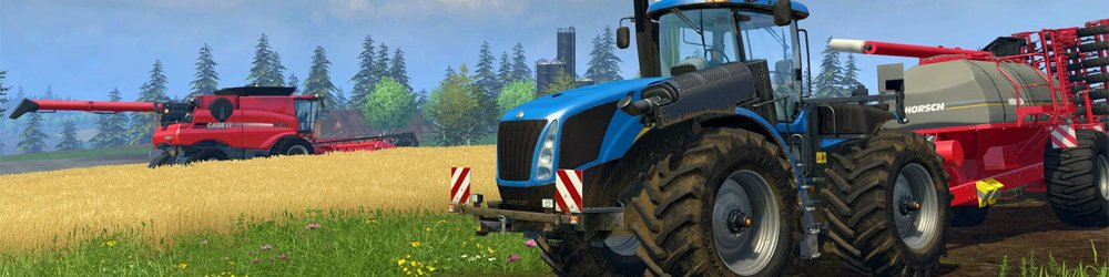 Farming Simulator 15 banner