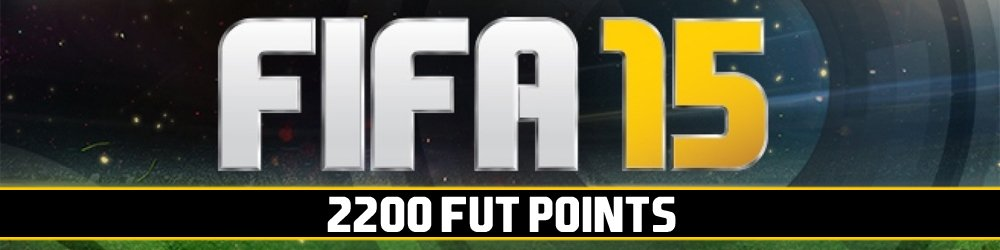 FIFA 15 FUT Points 2200 banner