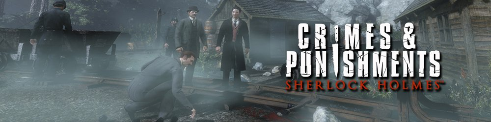 Sherlock Holmes Crimes and Punishments banner