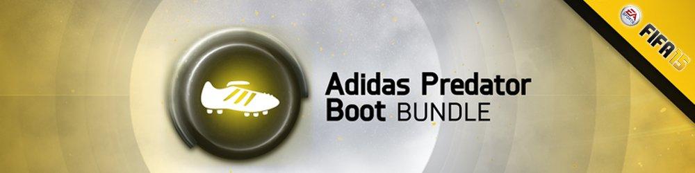FIFA 15 Adidas Predator Boot Bundle banner