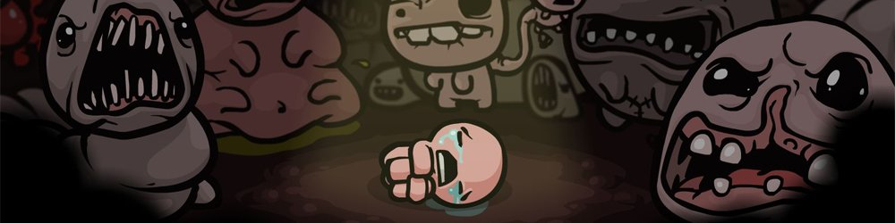 The Binding of Isaac + Wrath of the Lamb banner