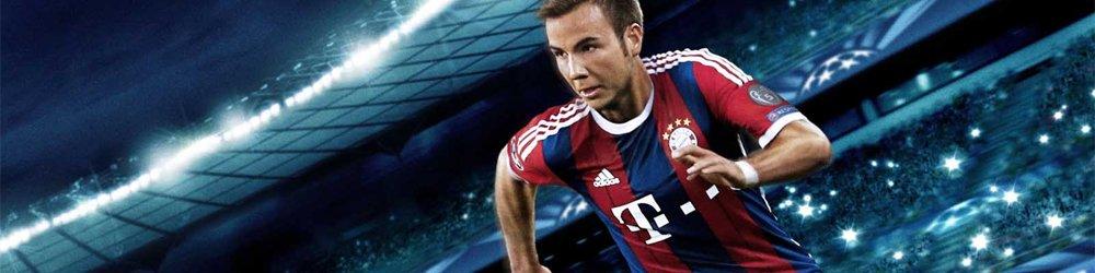 Pro Evolution Soccer 2015 banner