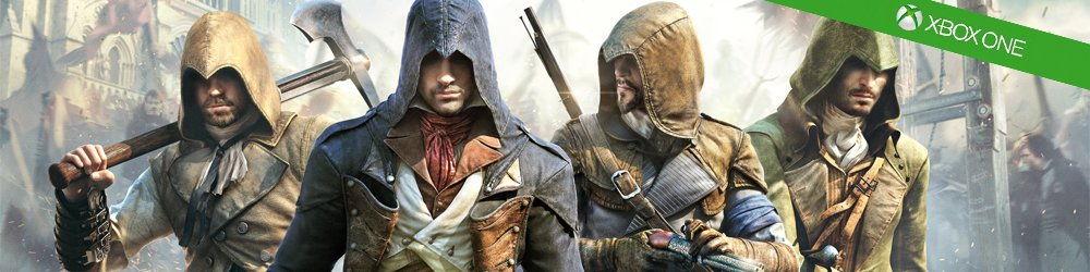 Assassins Creed Unity Xbox One banner
