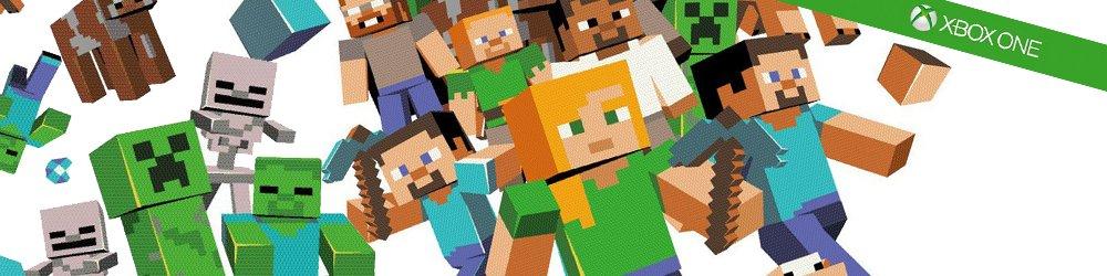 Minecraft Xbox One banner
