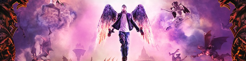 Saints Row Gat out of Hell First Edition banner