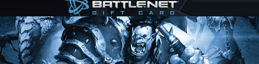 Battle.net Balance 20€ banner