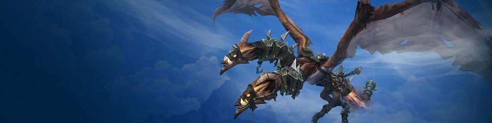 World of Warcraft Iron Skyreaver banner