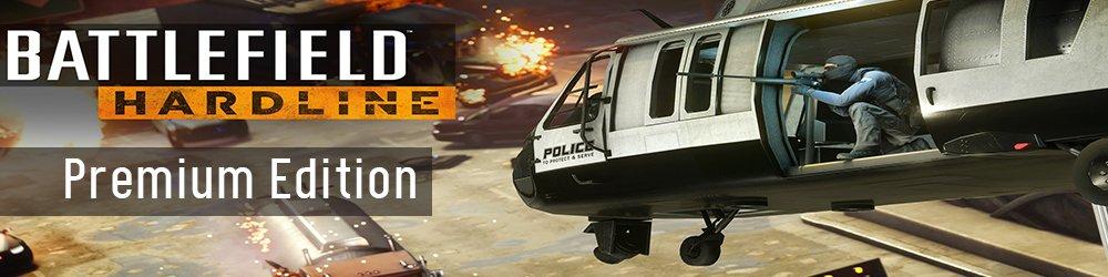 Battlefield Hardline Premium Edition banner