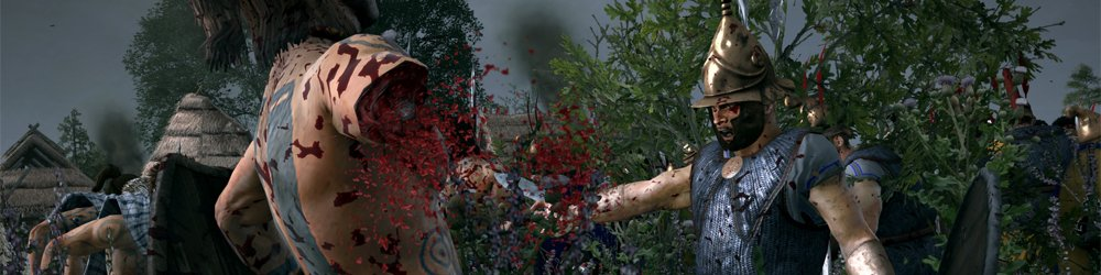 Total War ROME II Blood and Gore Pack banner