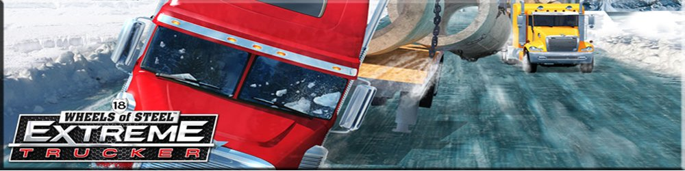 18 Wheels of Steel Extreme Trucker banner