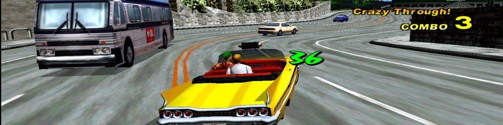 Crazy Taxi 3 banner