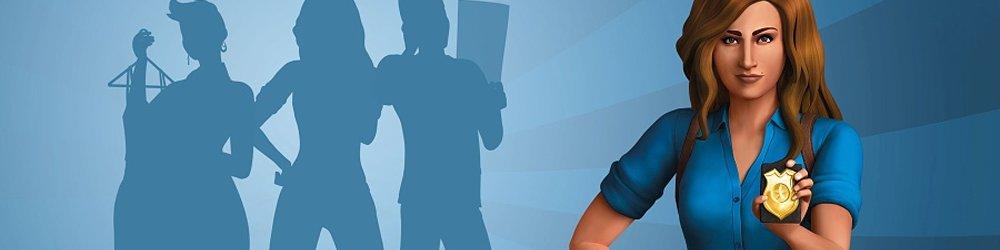 The Sims 4 Hurá do Práce banner