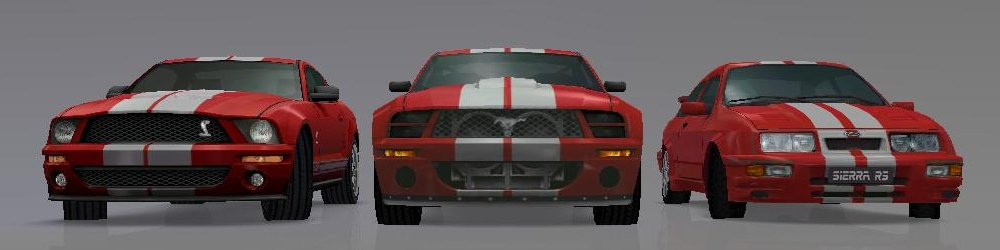 Ford Street Racing banner