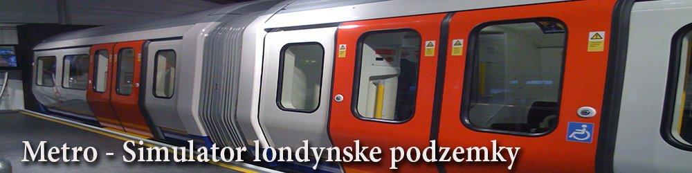 Metro Simulátor londýnské podzemky banner