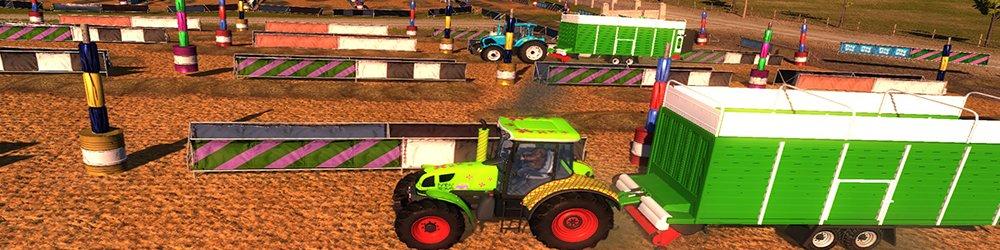 Traktor Profesionální farmář banner
