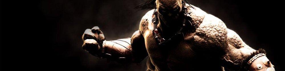 Mortal Kombat X Goro banner