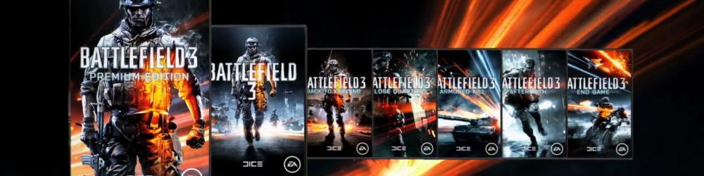 Battlefield 3 Premium Edition banner