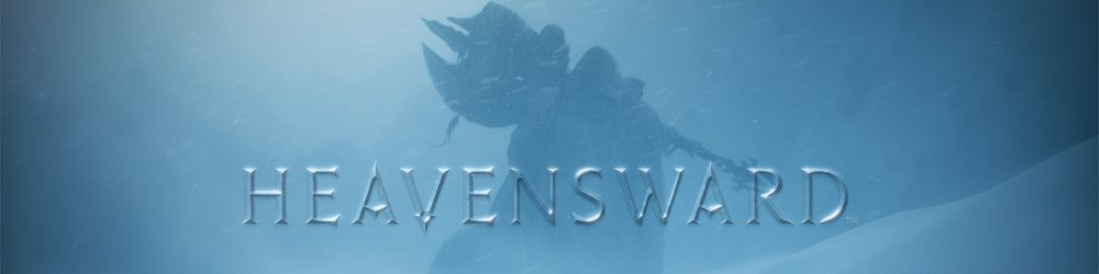 Final Fantasy XIV Heavensward banner